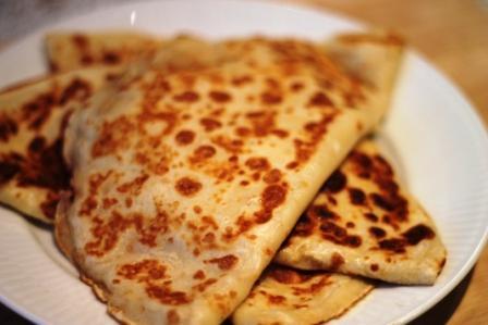 Pandekager med brie
